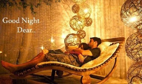 Cute Love With Romantic Good Night Photo Love Wallpaper Pics