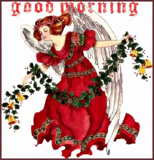 beautiful good morning image with caption