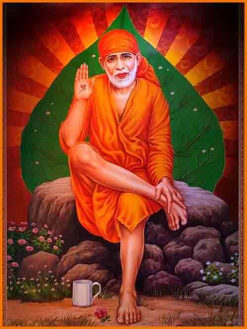 download picture of sai baba