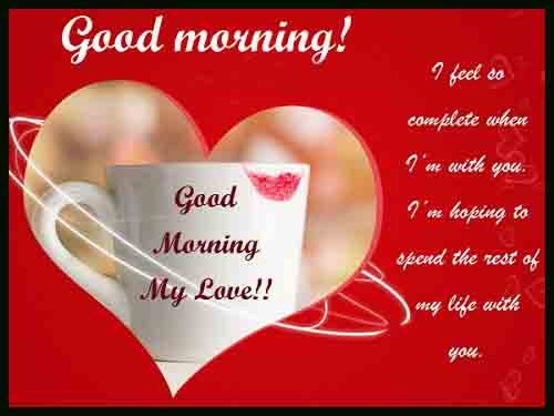 best of Good Morning love quotes picture
