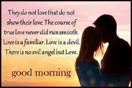 downlaod full image of Good Morning love quotes