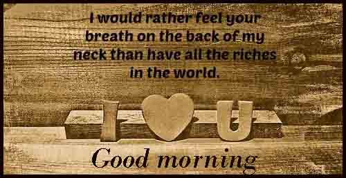 wallpaper of Good Morning love quotes for gallery