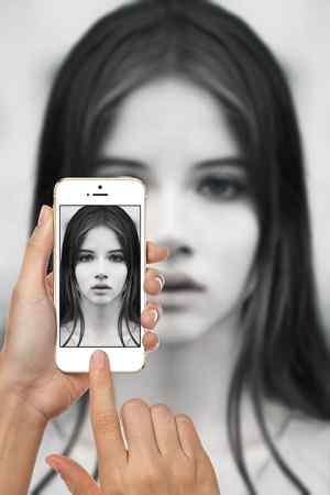 Whatsapp DP of girl image