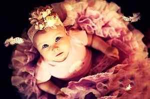 cute Whatsapp DP photo of baby girl