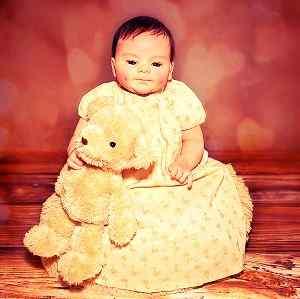 cute doll image of Whatsapp DP