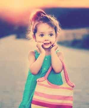 cute image of Whatsapp DP for girls