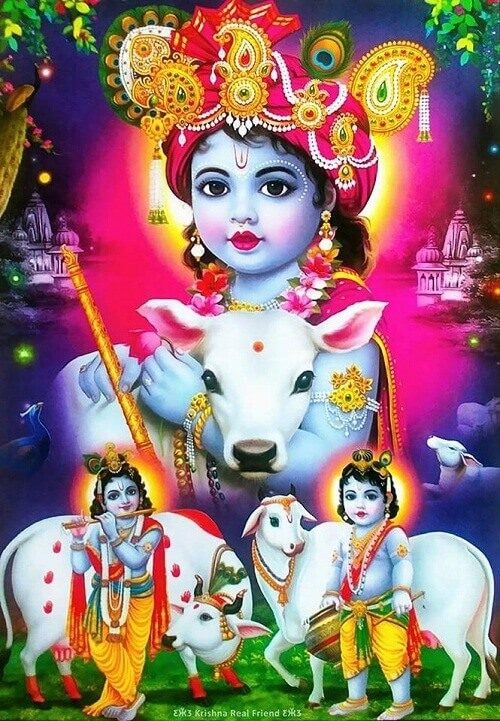 image of krishna for fb cover