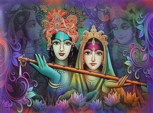 download wallpaper of radha krishna for poster