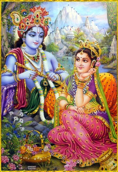 wallpaper of radha krishna for catalogue